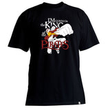 One Piece Luffy King Black T-Shirt