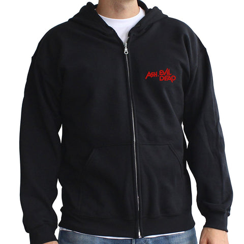 ASH Vs EVIL DEAD - Sweat Shoot first, think never Hoodie