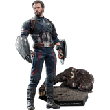 Captain America Movie Promo Edition Sixth Scale Figure by Hot Toys