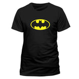 Batman Logo Men's Black T-Shirt