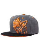 Crash Bandicoot Embroidered Crash Snapback Cap