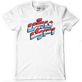 Captain America Arabic Vintage Logo Mens T-Shirt