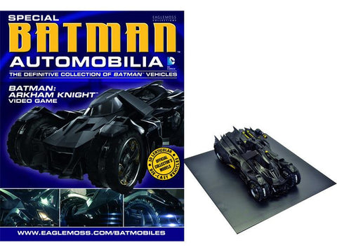 Batman Arkham Knight Batmobile with Collector Magazine
