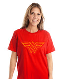 Wonder Woman Tuft Logo T-Shirt