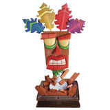 FIRST 4 FIGURES Crash Bandicoot AKU AKU MASK