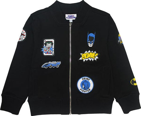Batman Badge Bomber Jacket 3/4
