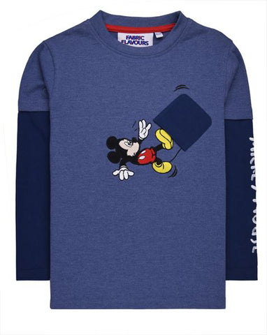 Mickey Mouse Falling T-shirt