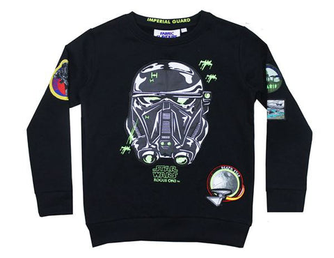 Star Wars Death Trooper Badge 3/4 Sweatshirt