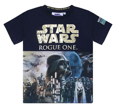 Star Wars Rogue One Foil Poster Print 7/8 T-Shirt