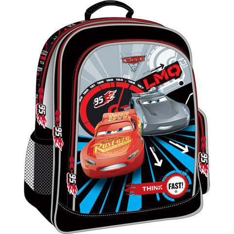 Cars Mc Queen And LMO Backpack