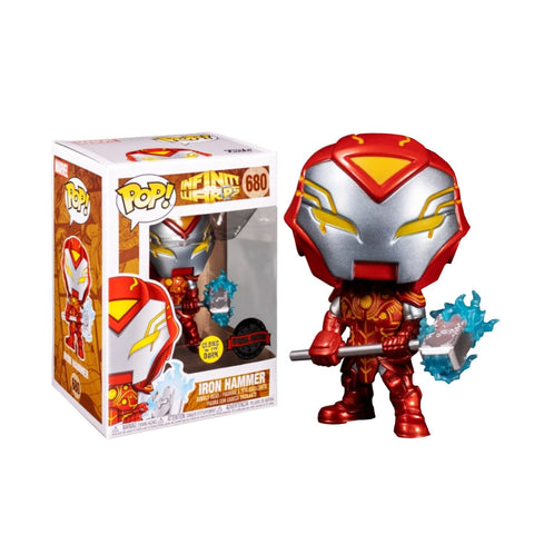 Funko POP! Marvel: Marvel- Iron Hammer Glows Walgreens
