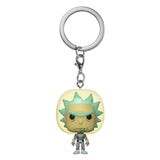 Funko POP! Rick and Morty - Space Suit Rick Keychain