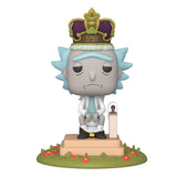 Funko POP! Deluxe Rick and Morty: King of $#!+ with Sound Vinyl Figure (Preorder)