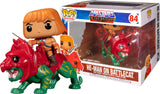 Funko POP! Masters of the Universe He-Man on Battle Cat Vinyl Figure