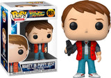 Funko POP! Back to the Future Marty Puffy Vest Vinyl Figure