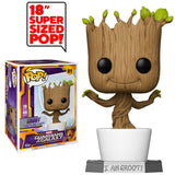 "Funko POP! 18"" Dancing Groot Vinyl Figure"