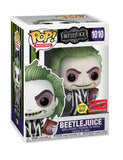 Funko POP! Movies: Beetlejuice with Hand Book of Recently Deceased NYCC Glows Wallgreens (Preorder)