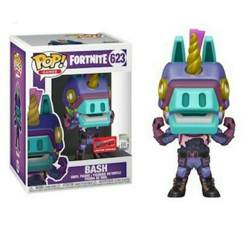 Funko POP! Games: Fortnite- Bash NYCC Exclusive (Preorder)