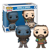 Funko Pop! God of War Brok & Sindri 2 pack Vinyl Figure (Preorder)