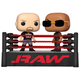 Funko POP! WWE The Rock vs Stone Cold in Wrestling Ring Vinyl Figure