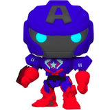 Funko POP! Marvel: Marvel Mech - Captain America Glow in the Dark Vinyl Figure
