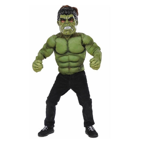 Hulk - Muscle Top & Gloves Costume