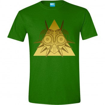 Zelda Golden Triangle T-Shirt Green
