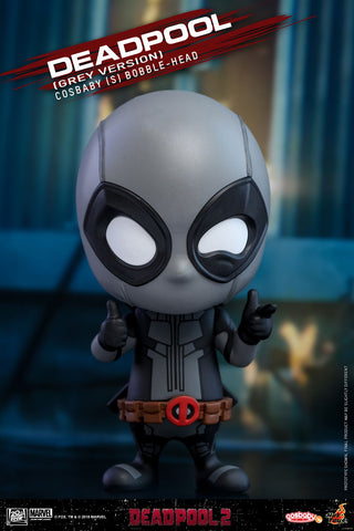 Cosbaby Deadpool 2 Grey Version Vinyl Figure