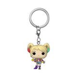 Funko POP! Birds of Prey Harley Quinn Caution Tape Key Chain
