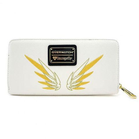 Loungefly Overwatch Mercy Zip Around Wallet