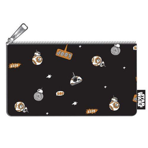 Loungefly Star Wars BB-8 AOP Pouch