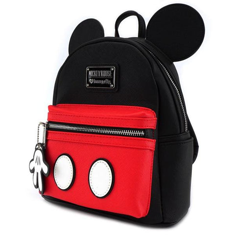 Loungefly Mickey Leather Mini Backpack