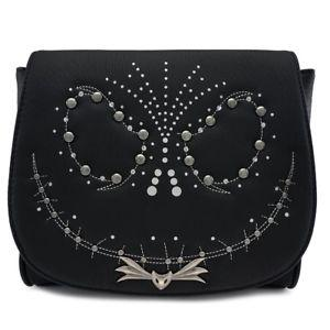 Loungefly Nightmare Before Christmas Jack Sudded Crossbody Bag