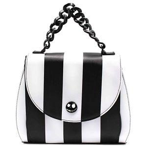 Loungefly Nightmare Before Christmas Stripped Saddle Crossbody Bag