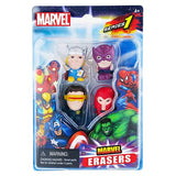 Marvel Collectible Marvel Erasers 4-Pack (Series 1 - Set D)