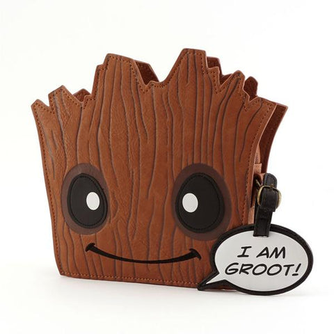 Loungefly Groot Die Cut Crossbody Bag