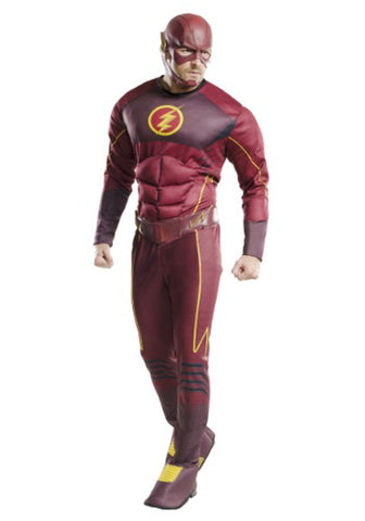 DC Flash Adult Deluxe Large