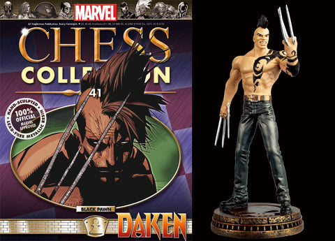 Marvel Chess Collection 41 Daken