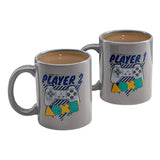 Player One and Player Two Mug Set