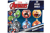Marvel Avengers Baubles 6 Pack