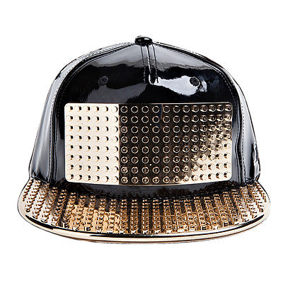 Omega Adult Cap (Black/Gold)