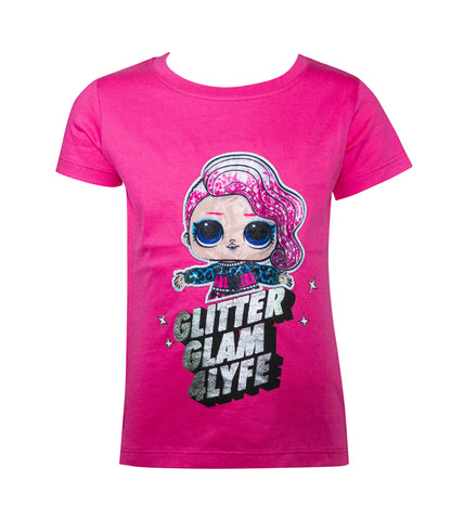 LOL Surprise! Glitter Glam 4Lyfe Girls T-Shirt