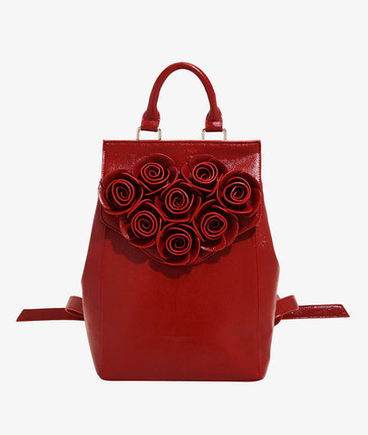 Disney Beauty & The Beast Rose Backpack