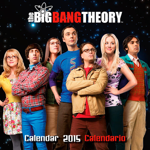 The Big Bang Theory Calendar 2015 English & Spanish Version