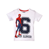 Spiderman Web Singler Kids T-Shirt