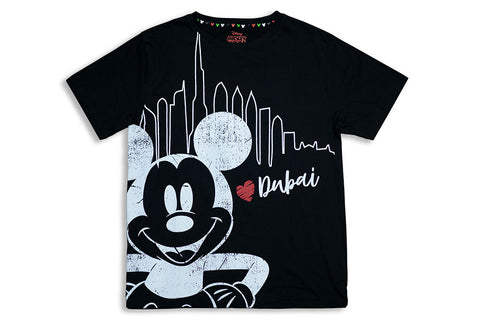 Mickey Dubai Crew Neck T-Shirt