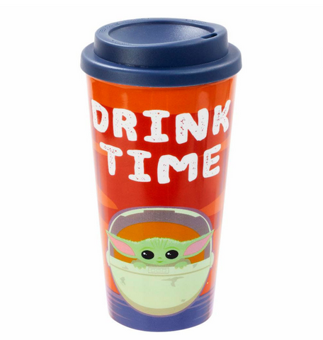 Star Wars The Mandalorian Travel Mug The Child Drink Time