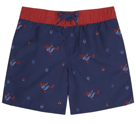 Spider-Man Repeat Print Swimshorts