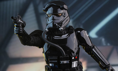Star Wars Episode VII The Force Awakens: Tie Pilot Fighter Sixth Scale Figure by Hot Toys