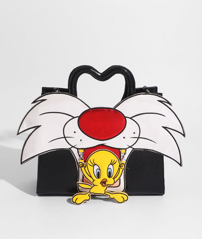 Disney Sylvester & Tweety Tote Travel Bag
